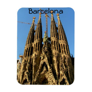 Sagrada Familia Rectangle Magnet