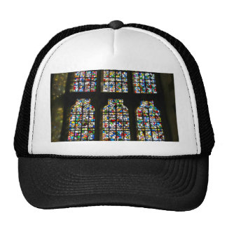 Sagrada Familia Stained Glass Barcelona Photograph Trucker Hat