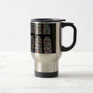 Sagrada Familia Stained Glass Barcelona Photograph Travel Mug