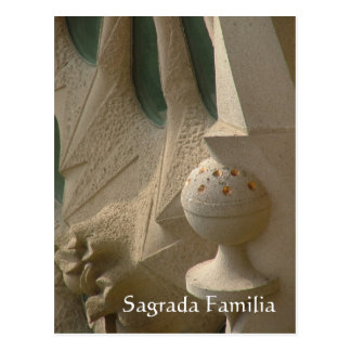 Sagrada Familia Tarjeta Postal