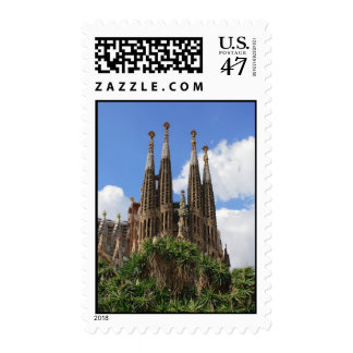 Sagrada Familia Timbres Postales