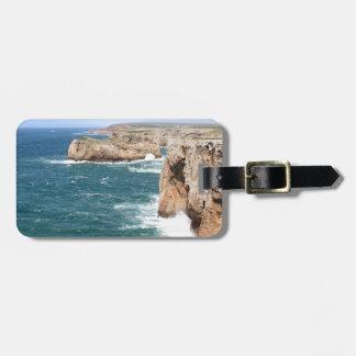 Sagres Algarve rugged coastline Luggage Tag