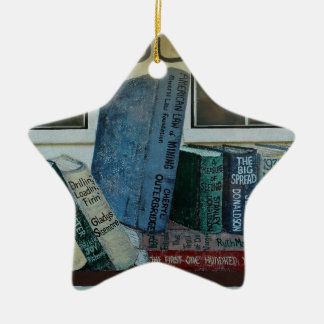 Saguache County Library, Colorado Ceramic Ornament