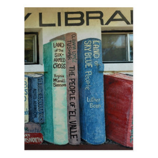 Saguache County Library, Colorado Postcard
