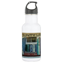 Saguache County Library, Colorado Water Bottle