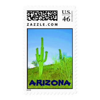 Saguaro Arizona Stamp