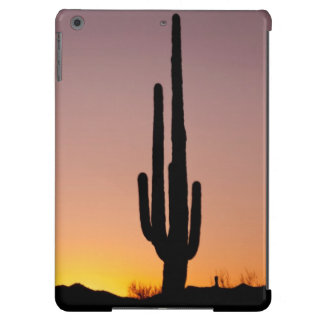 Saguaro Cactus at Sunset iPad Air Cases