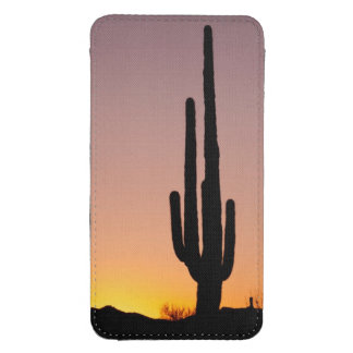 Saguaro Cactus at Sunset Galaxy S4 Pouch