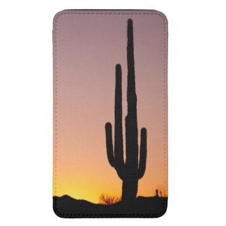 Saguaro Cactus at Sunset Galaxy S5 Pouch