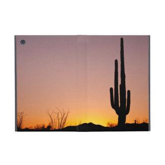 Saguaro Cactus at Sunset iPad Mini Covers