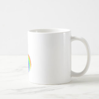 Saguaro Cactus Barfing A Rainbow Coffee Mug