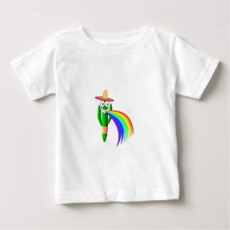 Saguaro Cactus Barfing A Rainbow Tee Shirt