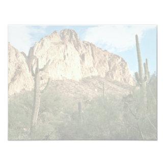 Saguaro Cactus 4.25x5.5 Paper Invitation Card