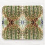 Saguaro Cactus Kaleidoscope Mousepad
