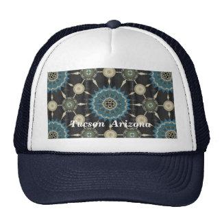 Saguaro Cactus Mandala Array Hat