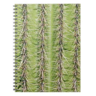 Saguaro cactus needles print notebook
