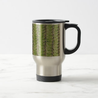 Saguaro cactus needles print travel mug