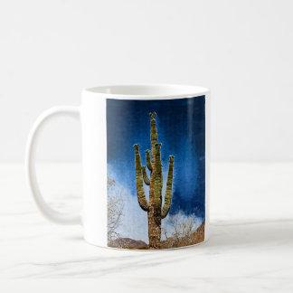Saguaro Cactus painting Coffee Mug