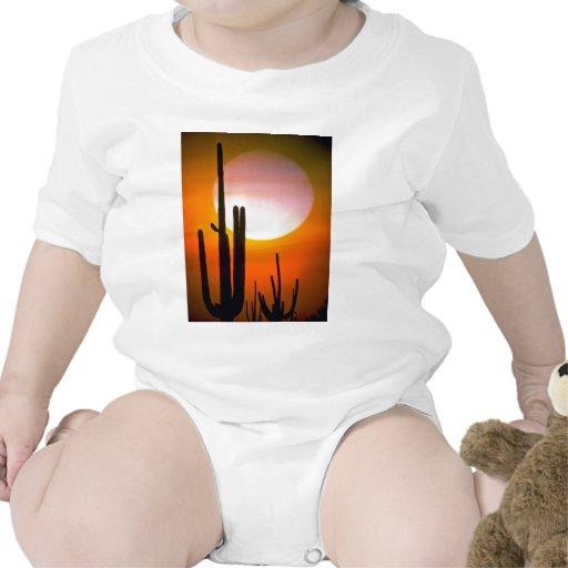 Saguaro cactus, Sonoran Desert, U.S.A. Desert T-shirt