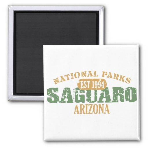 Saguaro National Park 2 Inch Square Magnet