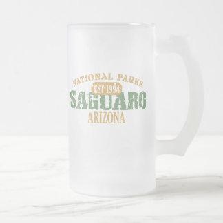 Saguaro National Park 16 Oz Frosted Glass Beer Mug