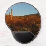 Saguaro Sunset I Arizona Desert Landscape Gel Mouse Pad