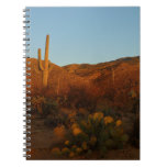 Saguaro Sunset I Arizona Desert Landscape Notebook