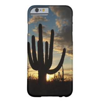 Saguaro Sunset II Arizona Desert Landscape Barely There iPhone 6 Case