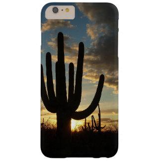 Saguaro Sunset II Arizona Desert Landscape Barely There iPhone 6 Plus Case
