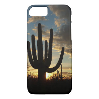Saguaro Sunset II Arizona Desert Landscape iPhone 8/7 Case