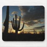 Saguaro Sunset II Arizona Desert Landscape Mouse Pad