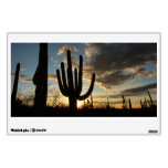 Saguaro Sunset II Arizona Desert Landscape Wall Skin