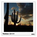 Saguaro Sunset II Arizona Desert Landscape Wall Sticker