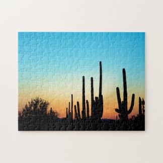Saguaro Sunset Jigsaw Puzzle