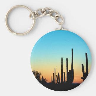 Saguaro Sunset Keychains