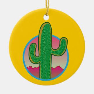 Saguaro Sunset Ornament