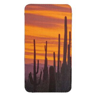 Saguaro, sunset, Saguaro National Park Galaxy S4 Pouch