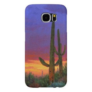 Saguaro Sunset Samsung Galaxy S6 Cases