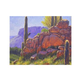 Saguaro Sunshine Canvas Print