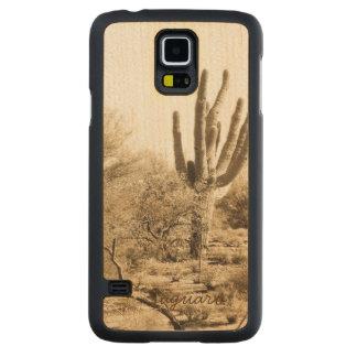 Saguaro - Wooden Phone Case