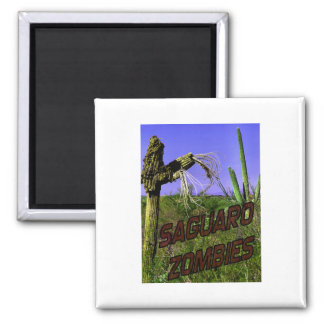 Saguaro Zombies Zombie 2 2 Inch Square Magnet