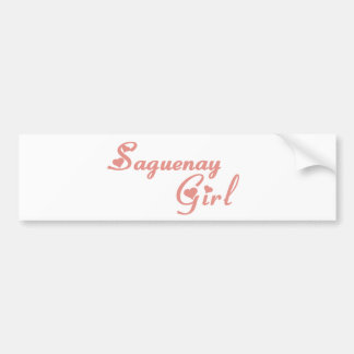 Saguenay Girl Bumper Sticker
