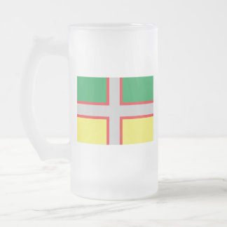 Saguenay–Lac-Saint-Jean Frosted Glass Beer Mug
