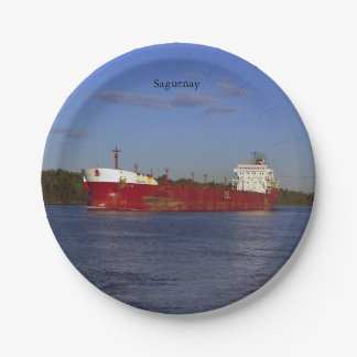 Saguenay paper plate