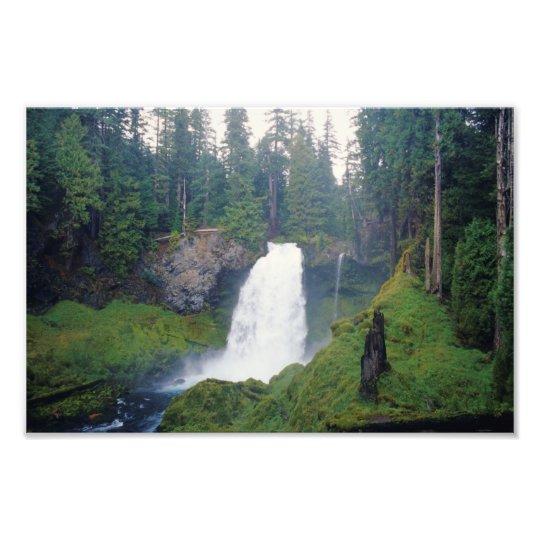 Sahalie Falls, Oregon Photo Print