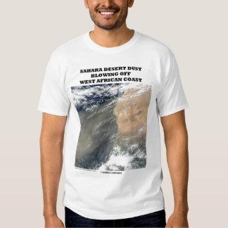 Sahara Desert Blowing Off West African Coast Tee Shirt