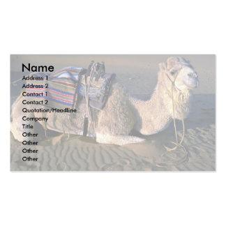 Sahara Desert near Merzouga, Morocco Double-Sided Standard Business Cards (Pack Of 100)