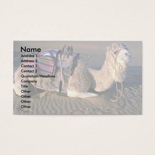Sahara Desert near Merzouga, Morocco Business Card