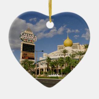 Sahara Hotel Las Vegas Christmas Ornaments