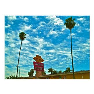 Sahara Hotel- Sunset Strip,Los Angeles Postcard